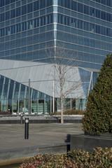 View of financial buildings, Madrid, Spain, Europe