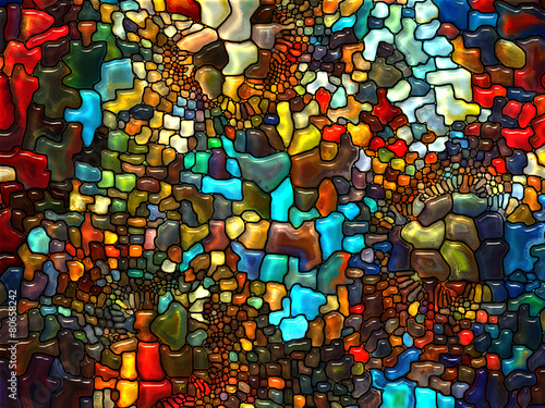 Fotobehang Glas In Lood Return of Stained Glass