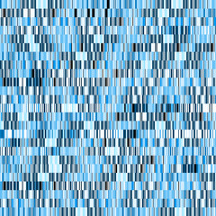 Blue mosaic background (different, random shapes)