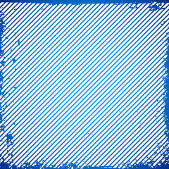 Diagonal lines background with grungy texture. Vector