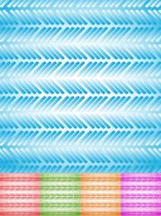 Colorful rectangular background set