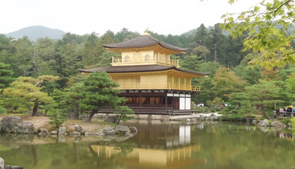 Kinkakuji Temple in Japan