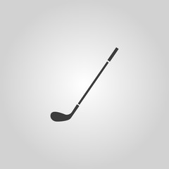The golf icon. Game symbol. Flat