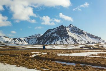 Volcano mountain, Iceland