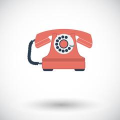 Vintage phone icon.