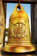 The bronze bell in the Monte Fort of Macau