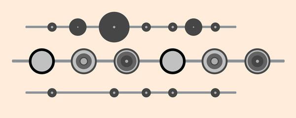 Retro Circles Dividers
