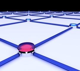 障害の発生した装置とネットワークのイメージ