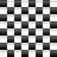 Illuminated checkered background