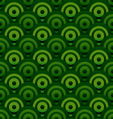 Stylish green circle background (it can be repeated)