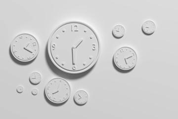 3d clocks