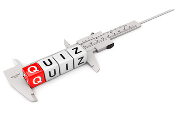 Caliper Measure Quiz Cubes