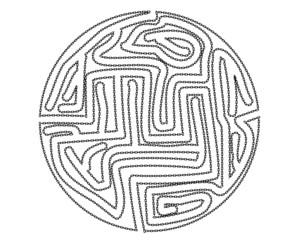 chain maze design