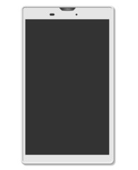 white smart phone design