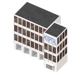 Vector 3d building