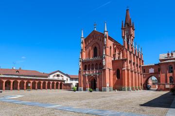 Saint Victor Church in Pollenzo, Italy.