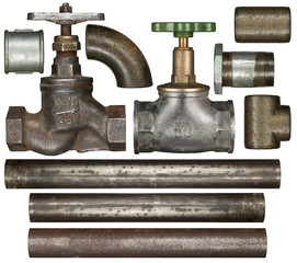 Valves and pipes