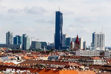Österreich, Wien, Skyline