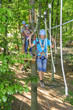 Mutprobe im Waldkletterpark
