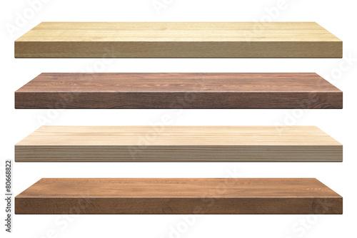 Wooden shelves - 80668822