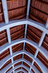 Timber Roof and Stone Arches