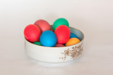 Colored eggs have long been a symbol of Easter