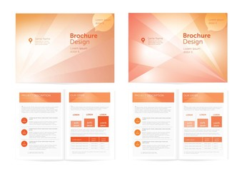 Vector Brochure Design.