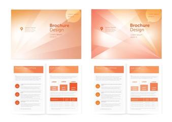 Vector Brochure Design.