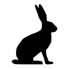 Hase Silhouette