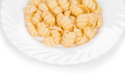 Pasta gnocchi di patate.