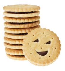 Kekse mit Smileys