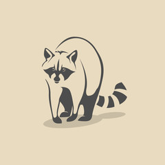 Raccoon icon.