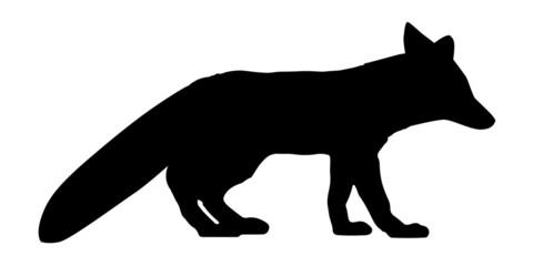 Fuchs Silhouette