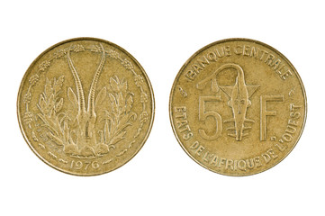 Coin French West Africa - Togo