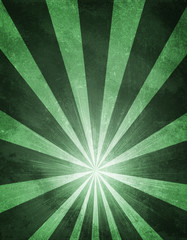 Abstract green background is concrete surface and stripes at