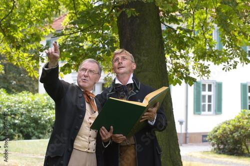 Zdjęcia na płótnie, fototapety, obrazy : Die Brüder Grimm