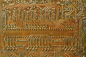 old printed circuit boards