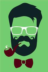 Fashion hipster boho 2015 look vector