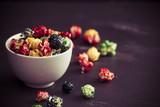 Sweet, colorful popcorn
