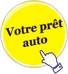 bouton prêt auto