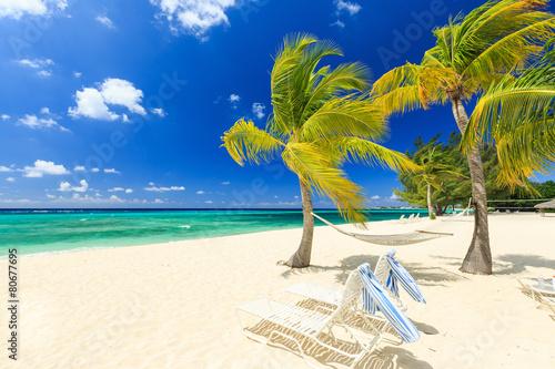 Poster 7 mile beach, Grand Cayman