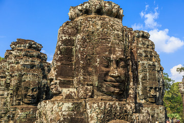 Bayon Temple. Siem Reap, Cambodia