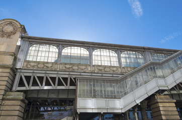 metro station exterior