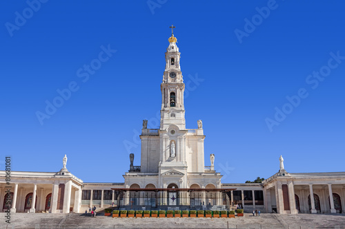 Zdjęcia na płótnie, fototapety, obrazy : Sanctuary of Fatima. Basilica of Nossa Senhora do Rosario
