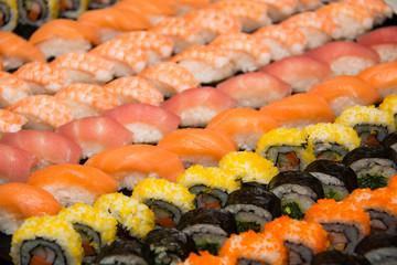 appetizer Japanese  maki sushi roll