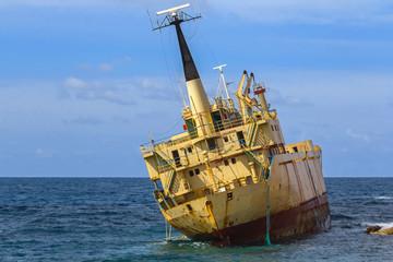 shpwreck, cyprus