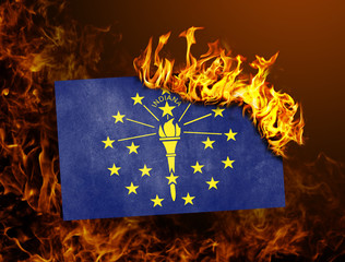 Flag burning - Indiana