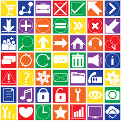 Set Infographics web icons or design elements