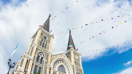 Mae Phra Patisonti Niramon Church at Chanthaburi Thailand