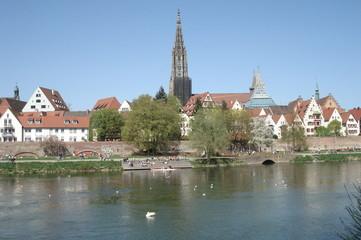 Blick auf das Ulmer Münster